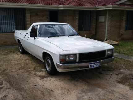 "HOLDEN UTE ""WB"" 1983     FOR SALE"