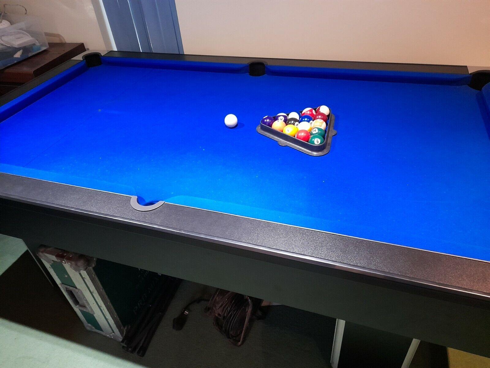 7' Pool table, Liberty Games classic slimline, slate base