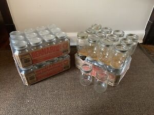 New in box canning jars, and other canning supplies