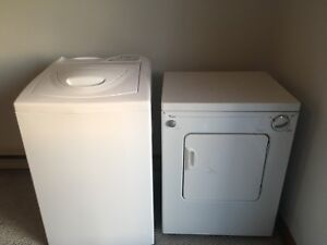 Whirlpool apartment sized washer and dryer 600