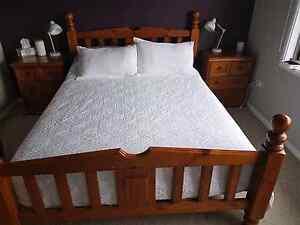 Timber Queen 3 piece Bedroom Set Blackalls Park Lake Macquarie Area Preview