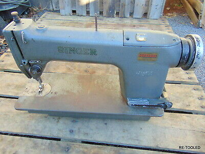 Singer Cast Iron Industrial Commercial Sewing Machine