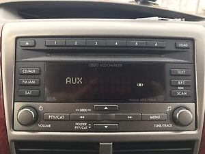 2009 Subaru Forester 6 cd changer