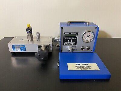 Otc 4285 4291 4292 Digital Hydraulic Flow Test Kit 100 Gpm