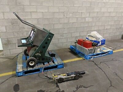 Commando Pipeline Sewer Video Inspection System W Brutus Mainline Transporter