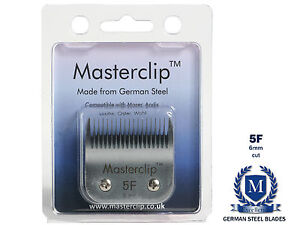NEW - Masterclip German Steel Dog Clipper Blades - fits Oster and Andis Clippers