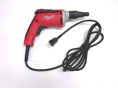 New Milwaukee Heavy Duty Electric Drywall Screwdriver 6742-20