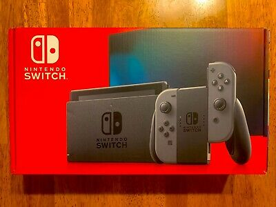 Nintendo Switch HAC-001(-01) 32GB Console with Gray Joy‑Con Newest Version V2