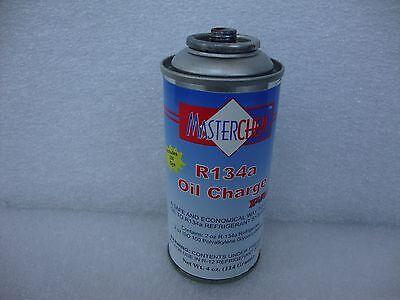 MASTERCHEM A/C COMPRESSOR OIL CHARGE AND R134a REFRIGERANT  WITH UV DYE 4OZ ()