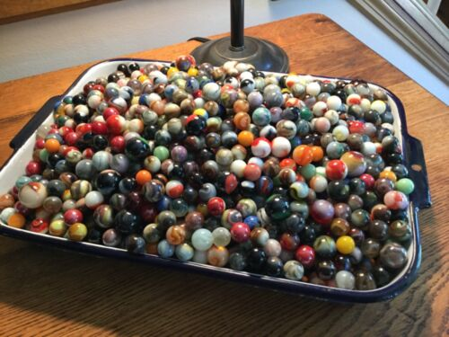 Antique to Vintage to New Marble Lot JABO PLUS+MORE,  BAG OF 50