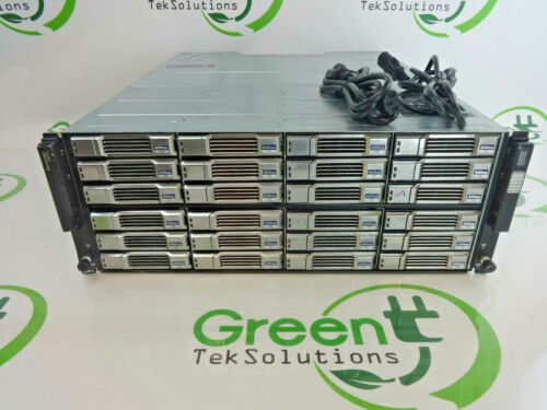 "Dell EqualLogic PS6110XV 24-Bay 3.5"" ISCSI SAN Storage Array 2x PSU NO CNTRLLERS"