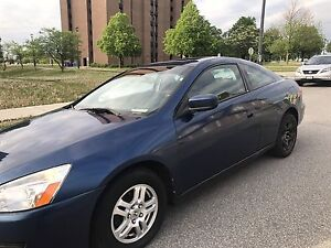 Honda accord coupe 2004 sports model