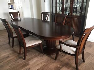 Dining Table With Buffet And Hutch