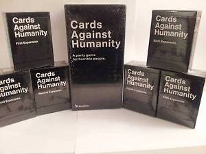 CARDS AGAINST HUMANITY Base Australian Expansions 1 2 3 4 5 6 Southport Gold Coast City Preview