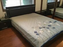 Bed with bedsides, and chest Ambarvale Campbelltown Area Preview
