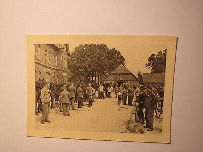 Pferdeappell in Wahrenholz - Gasthaus - Soldaten Pferde / Foto vom 25. Juni 1937
