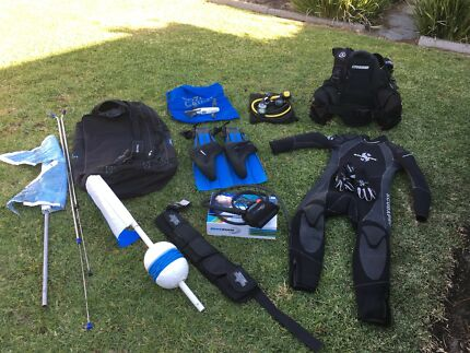 Full scuba dive kit