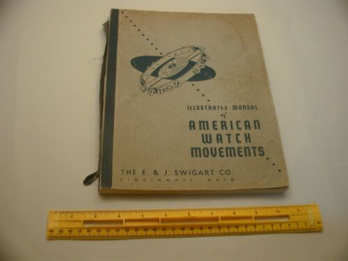 Book 1,695 - Illustrated Manual of American Watch Movements