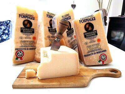 Formaggio Italiano Parmigiano Reggiano certificato DOP stagionatura 24 mesi 1 Kg