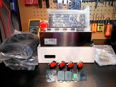 Gecko G540 48v 12.5a Solderless Connectors 3 13ft Ds 300v 80c Mtr Cables
