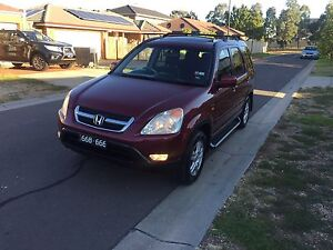 HONDA CRV sports very good car family car full option Roxburgh Park Hume Area Preview
