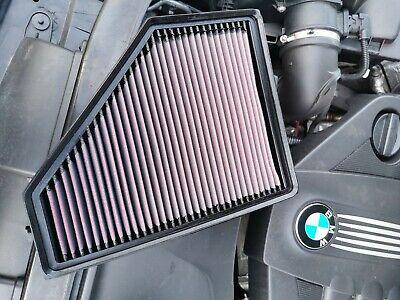 33-2943 K/&N KN Air Filter fits BMW 535d 635d 3.0 Diesel Engine 2005-2011