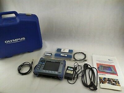 Olympus Nortec 600d Eddy Current Flaw Detector Ndt With Probes