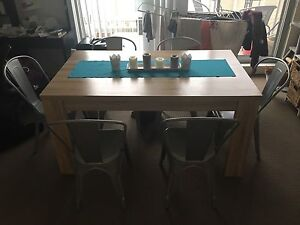 Dining table and chairs Homebush West Strathfield Area Preview