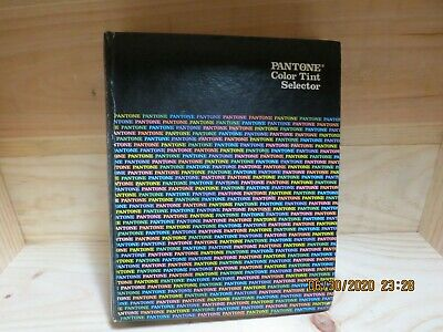 Vintage Pantone Color Tint Selector Reference Book 1984 2nd Edition Hardback