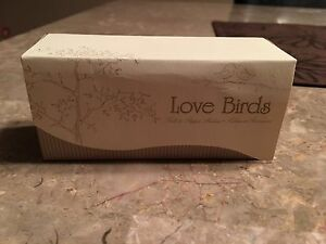 Love birds salt and pepper shakers (great for party favours)