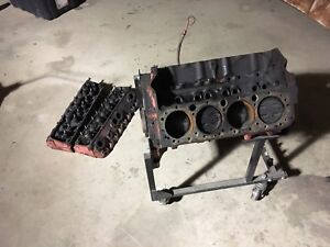 350 sbc and 882 cylinder heads small block Chevy cl