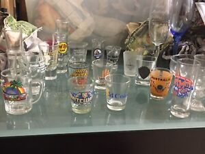 Mixed Glassware (Mostly Party Glasses)