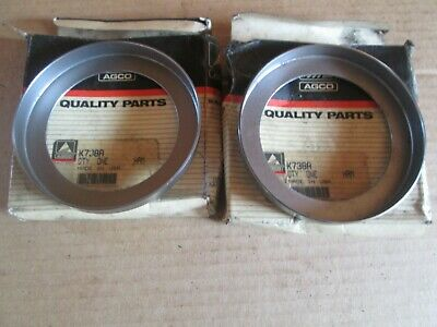 Oliver Tractor Super99950990995 Brand New Front Wheel Seals Wearing Cup Nos
