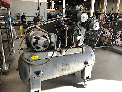 Ingersol-rand Type-30 Model 15t 15hp Air Compressor