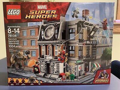 LEGO Marvel Super Heroes 76108 Sanctum Sanctorum Showdown NEW Sealed Mint Box