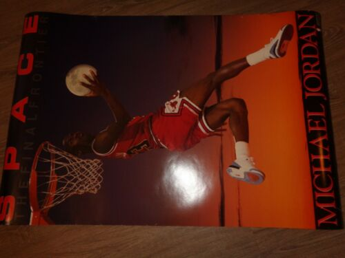 1990 Vintage Michael Jordan The Final Frontier Costacos Brothers Poster 23x35