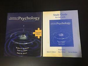 2 University Psychology Textbooks PLUS Study Guide