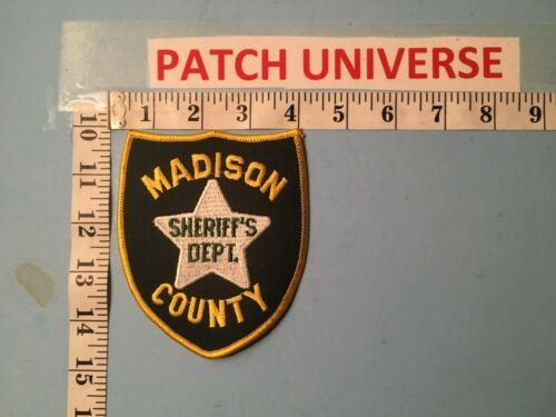 VINTAGE MADISON COUNTY FLA  SHERIFF  SHOULDER  PATCH  J131