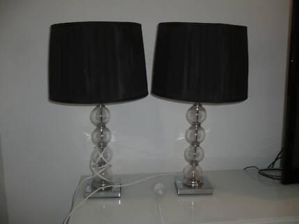 Side lamp good condition table desk lamps gumtree australia lamp side table lamps x 2 aloadofball Images