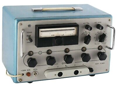 0.1 Ohm - 1 Tohm P4060 Decade Resistance Standard Resistor Box An-g Leeds Northr