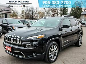 2018 Jeep Cherokee 4X2, BLUETOOTH, GPS NAV, BACK UP CAM, REMOTE
