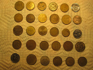 COIN / MEDAL / TRADE TOKEN COLLECTION  ASSORTED EXONUMIA ESTATE SALE LOT #4