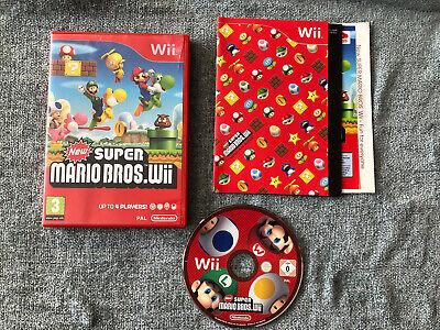 New Super Mario Bros Nintendo Wii Game 2009