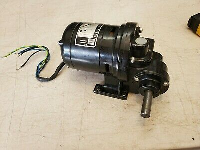 Bodine Electric Gear Reduction Motor Type Nsi-12rg 170 Hp 3601 115v 4.8 Rpm