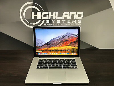 APPLE MACBOOK PRO 15 PRE-RETINA / 3 YEAR WARRANTY / 2.4GHZ / 8GB RAM / 500GB