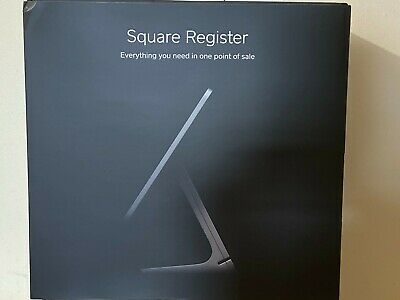 Square Register With Customer Display Contractless Chip Reader Terminal New