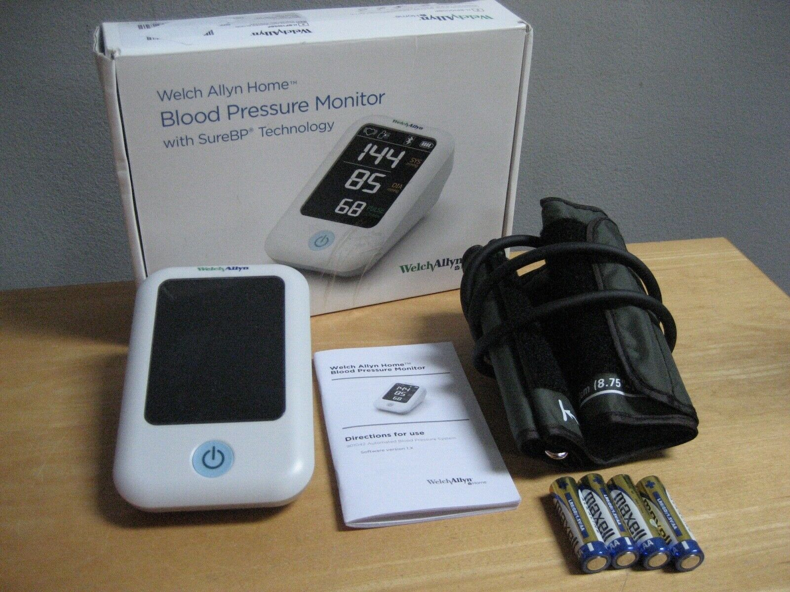 Welch Allyn Home Blood Pressure Monitor 901042 H-BP100SBP