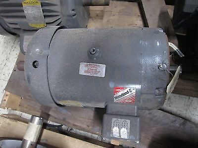 Baldor Double-shafted Ac Motor 37h543y833h2 5hp 1160rpm 16.28.1a 230460v Used