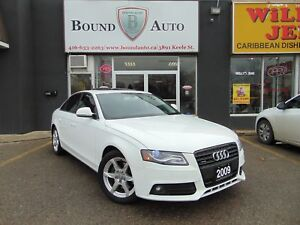 2009 Audi A4 2.0T Prem Tip-Tro LEATHER ROOF B-TOOTH NO ACCIDENT