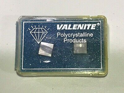 Two Pack Of Valenite Cbn Inserts Spg322-4f T00615a Grade Vc722